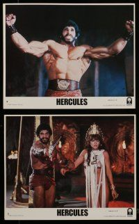 7s080 HERCULES 8 8x10 mini LCs '83 images of strongman Lou Ferrigno & sexy Sybil Danning!