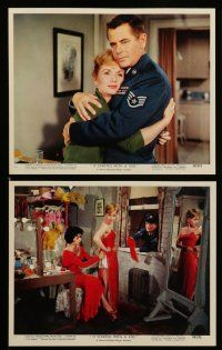 7s016 IT STARTED WITH A KISS 12 color 8x10 stills '59 great images of Glenn Ford, Debbie Reynolds!