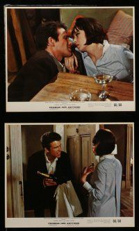 7s021 PROMISE HER ANYTHING 12 color 8x10 stills '66 images of Warren Beatty & pretty Leslie Caron!