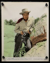 7s049 ROSE OF CIMARRON 10 color 8x10 stills '52 Jack Buetel, Mala Powers as The Wildcat of the West