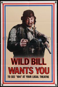 7t024 1941 teaser 1sh '79 Steven Spielberg, John Belushi as Wild Bill wants you!