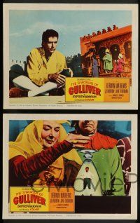 7w865 3 WORLDS OF GULLIVER 5 LCs '60 Ray Harryhausen fantasy classic, cool special effects scenes!