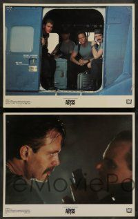 7w020 ABYSS 8 LCs '89 directed by James Cameron, deep-sea underwater sci-fi thriller!