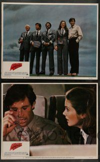 7w028 AIRPLANE II 8 LCs '82 Robert Hays, Julie Hagerty, Peter Graves, William Shatner, zany sequel!