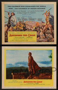 7w032 ALEXANDER THE GREAT 8 LCs '56 Richard Burton, Frederic March as Philip of Macedonia!