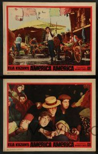 7w040 AMERICA AMERICA 8 LCs '64 Elia Kazan's biography of his Greek uncle, Stathis Giallelis!