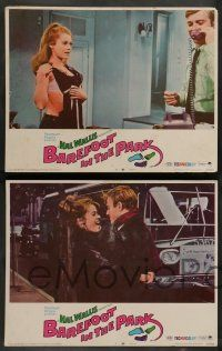 7w067 BAREFOOT IN THE PARK 8 LCs '67 cool Robert Redford & sexy Jane Fonda in New York City!