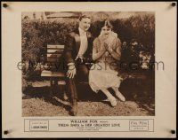 7z079 HER GREATEST LOVE 1/2sh '17 Theda Bara sitting by true love opera singer Harry Hilliard!