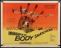 7z080 INVASION OF THE BODY SNATCHERS style A 1/2sh '56 ultimate classic in science-fiction!