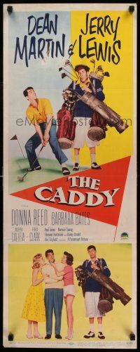 7z050 CADDY insert '53 screwballs Dean Martin & Jerry Lewis golfing, plus Donna Reed!