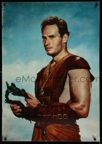 7z039 BEN-HUR set of 8 27x36 special posters '60 Heston, Boyd, Harareet, chariot, Wyler classic!