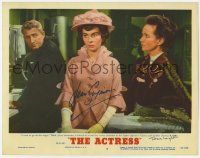 8a034 ACTRESS signed LC #6 '53 by BOTH Jean Simmons AND Teresa Wright, Spencer Tracy in background!
