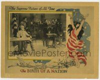 8a053 BIRTH OF A NATION LC R21 D.W. Griffith, historic surrender of Lee to Grant at Appomattox!