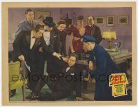 8a059 CHARLIE CHAN ON BROADWAY LC '37 Asian detective Warner Oland & others help fallen Keye Luke!