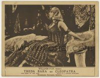 8a060 CLEOPATRA LC '17 incredible close up of sexy Theda Bara as Queen of the Nile w/headdress!
