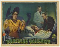 8a065 DRACULA'S DAUGHTER LC '36 wonderful image of Gloria Holden as vampire Countess, ultra rare!