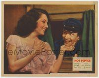 8a073 HOT PEPPER LC '33 sexy Lupe Velez flirts with bumbling Swedish man El Brendel!