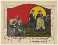 8a080 MY AMERICAN WIFE LC '22 pretty American Gloria Swanson observes romance in Argentina!