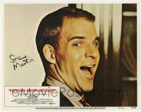 8a036 PENNIES FROM HEAVEN signed LC #1 '81 by Steve Martin, best portrait of him smiling big!