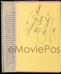 8a031 MAE WEST signed hardcover book '59 her autobiography Goodness Had Nothing To Do With It!