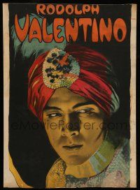 8b052 YOUNG RAJAH insert '22 American Rudolph Valentino discovers he is actually Indian royalty!