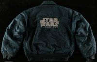 8b001 PHANTOM MENACE X-large flyer's cold weather jacket '97 given to the cast & crew for filming!