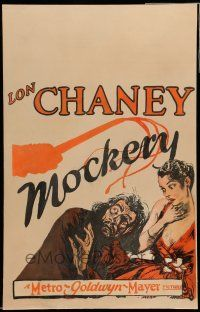 8b066 MOCKERY WC '27 great art of Lon Chaney Sr. being whipped next to beautiful Russian Countess!