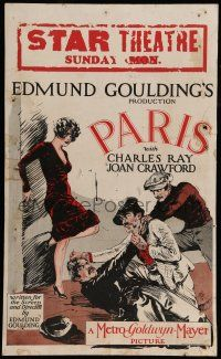 8b069 PARIS WC '26 French dancer Joan Crawford fought over by her Apache & rich American lovers!