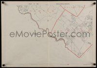 8d124 PART OF THE METROPOLITAN DISTRICT 20x28 map 1891 map of Boston cities!