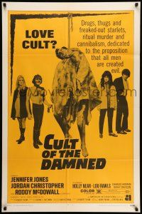 8p037 ANGEL ANGEL DOWN WE GO 1sh R70 AIP, drugs, thugs & cannibalism, Cult of the Damned!