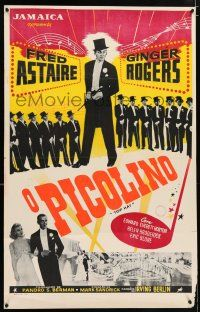 8t001 TOP HAT Brazilian R50s wonderful images of Fred Astaire & Ginger Rogers, Irving Berlin!