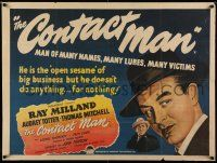 8t072 ALIAS NICK BEAL British quad '49 Thomas Mitchell makes Faustian deal with Ray Milland!