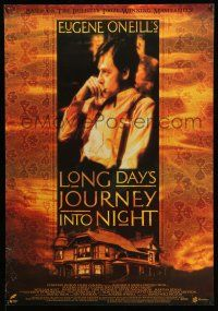 8t046 LONG DAY'S JOURNEY INTO NIGHT Canadian 1sh '95 William Hutt, Martha Henry!