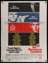 8t013 MANCHURIAN CANDIDATE Indian R88 Frank Sinatra, Laurence Harvey, by John Frankenheimer!