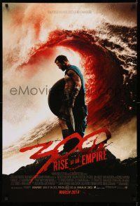 8w008 300: RISE OF AN EMPIRE March 2014 advance DS 1sh '14 Sullivan Stapleton, sword & sandal action