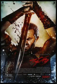 8w009 300: RISE OF AN EMPIRE March 7 advance DS 1sh '14 Sullivan Stapleton, sword & sandal action!