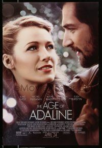8w022 AGE OF ADALINE advance DS 1sh '15 cool photograph collage of gorgeous Blake Lively!