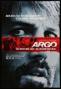 8w043 ARGO teaser DS 1sh '12 Ben Affleck, based on the declassified true story!