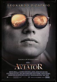 8w052 AVIATOR 1sh '04 Martin Scorsese directed, Leonardo DiCaprio as Howard Hughes!