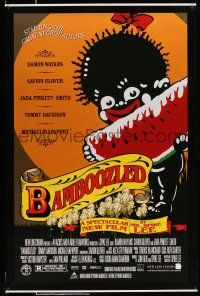 8w057 BAMBOOZLED recalled DS 1sh '00 Spike Lee, Wayans, recalled watermelon & blackface art!