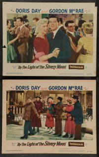 8z901 BY THE LIGHT OF THE SILVERY MOON 2 LCs '53 gorgeous Doris Day, Gordon McRae, musical!