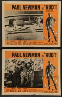 8z941 HUD 2 LCs '63 Paul Newman is the man with the barbed wire soul, Martin Ritt classic!
