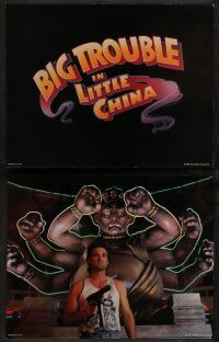 8z029 BIG TROUBLE IN LITTLE CHINA 9 color 11x14 stills '86 Kurt Russel, Kim Cattrall, Carpenter!