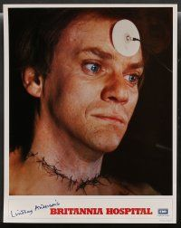 8z004 BRITANNIA HOSPITAL 16 English LCs '82 black comedy by Lindsay Anderson, Malcolm McDowell!