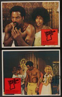 8z089 BLACK GUNN 8 LCs '72 images of Brenda Sykes, Luciana Paluzzi, Jim Brown is dynamite!