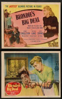 8z091 BLONDIE'S BIG DEAL 8 LCs '49 Penny Singleton & Arthur Lake as Dagwood, created by Chic Young!