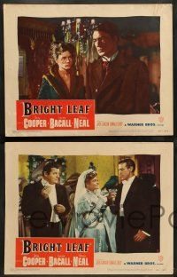 8z703 BRIGHT LEAF 5 LCs '50 Gary Cooper, Lauren Bacall, Patricia Neal, directed by Michael Curtiz!