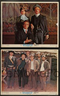 8z113 BUTCH CASSIDY & THE SUNDANCE KID 8 LCs '69 Paul Newman, Robert Redford, Katharine Ross!