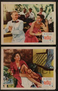 8z704 CAPTAIN'S PARADISE 5 LCs '53 Alec Guinness trying to juggle two wives, Yvonne De Carlo!