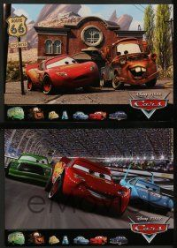 8z705 CARS 5 int'l LCs '06 great images from Walt Disney Pixar animated automobile racing pic!
